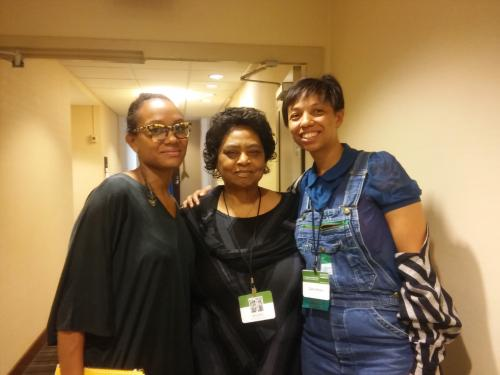 photo pop with Keynote speaker Shirley Sherrod