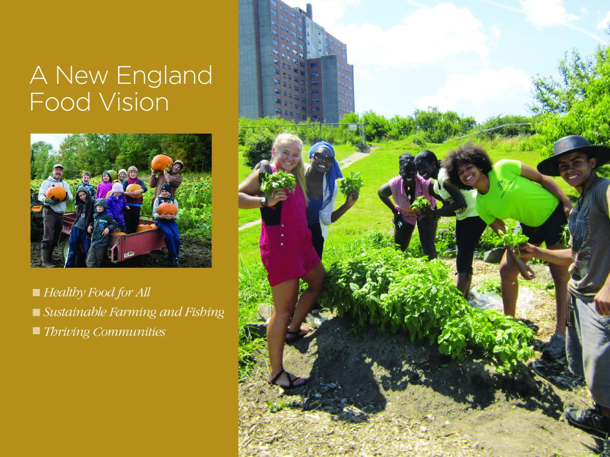 A New England Food Vision cover