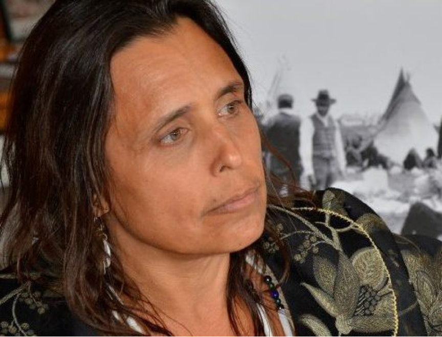 Winona LaDuke (Anishinabe), Founding Director of the White Earth Land Recovery Project