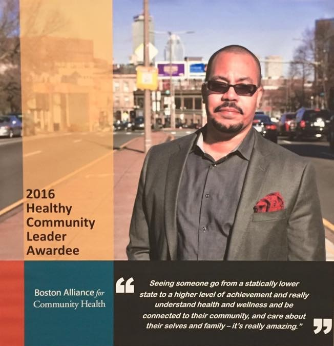Raheem Baraka, 2016 Healthy Community Leader Awardee and BACH quote