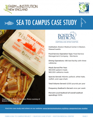Boston Medical Center Sea to Campus Case Study