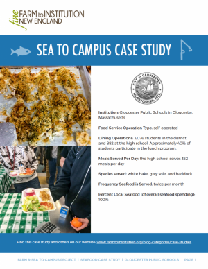 Gloucester Sea to Campus Case Study