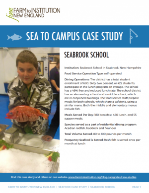 Seabrook Sea to Campus Case Study
