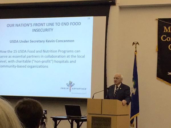 USDA Under Secretary Kevin Concannon