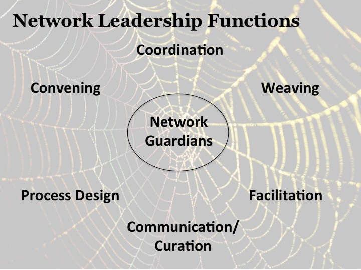 web with Network Leadership Functions