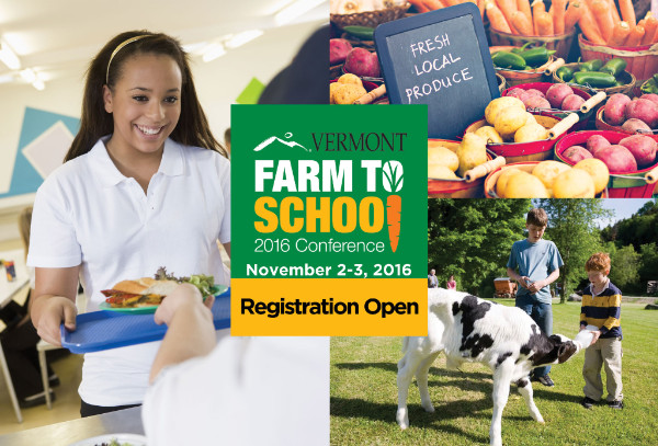 Vermont Farm to School Conference banner