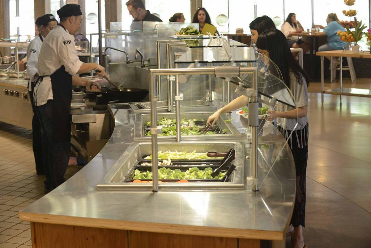 UMass salad bar